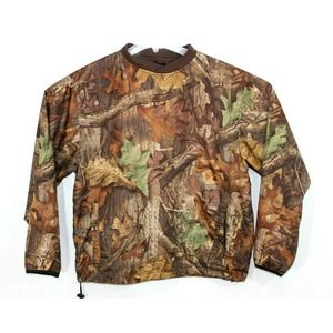 CABELAS Camouflage Timber Advantage Pullover